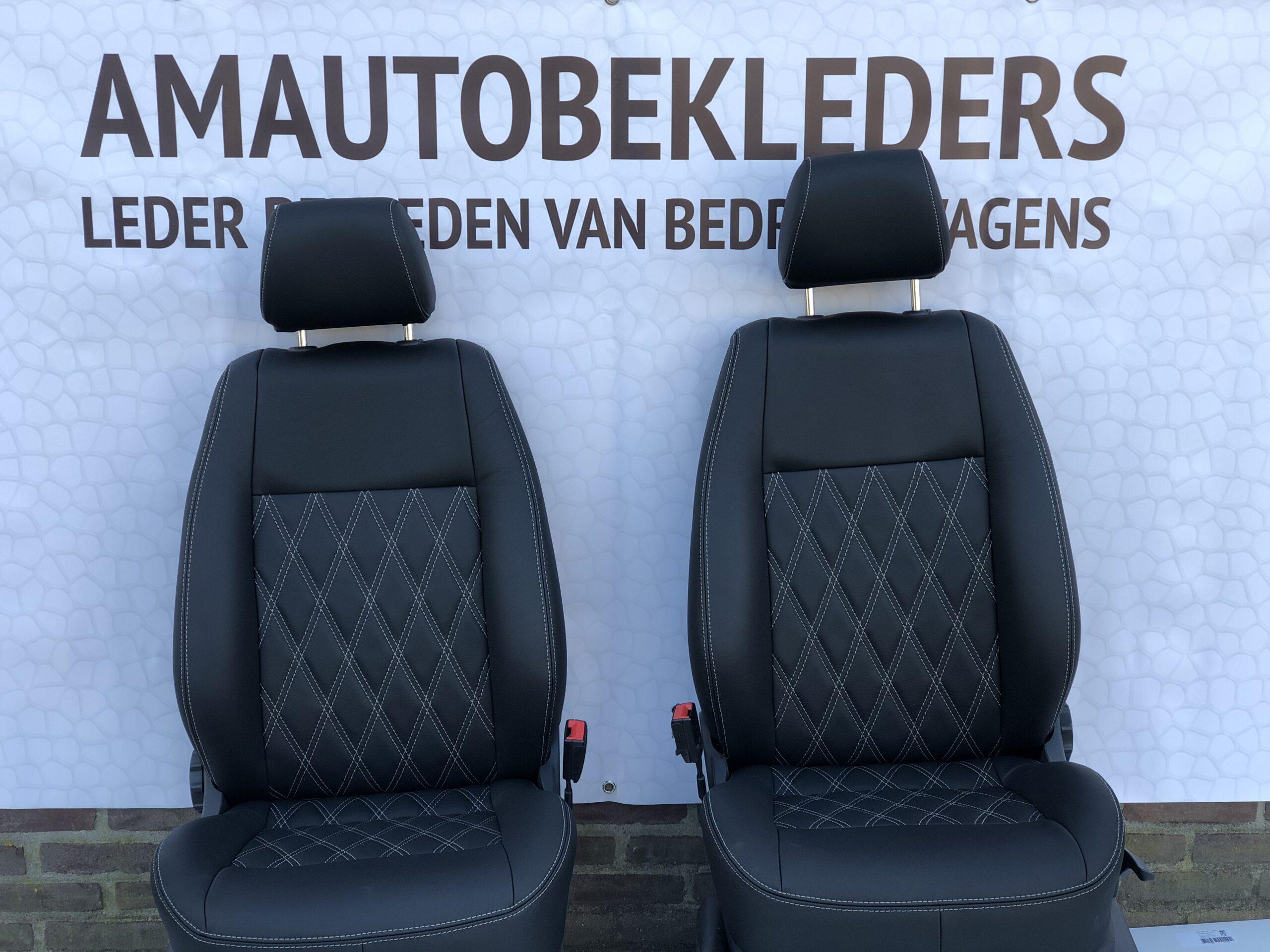 Bestuurdersstoel+Bijrijdersstoel voor caddy